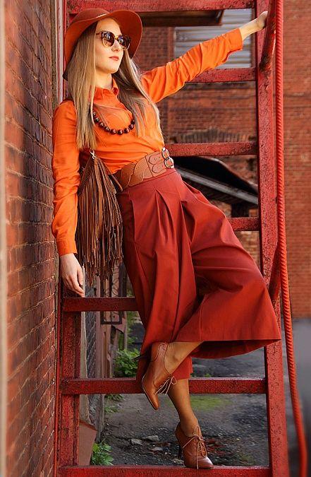 Юбка-брюки Zara http://tagbrand.com/pz/1681657
