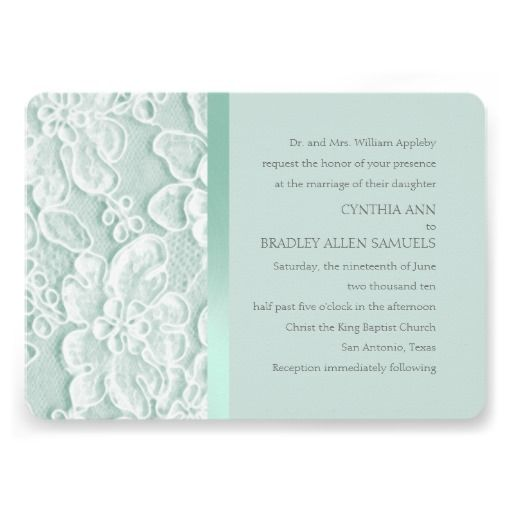 17 Best Ideas About Wedding Invitations Examples On