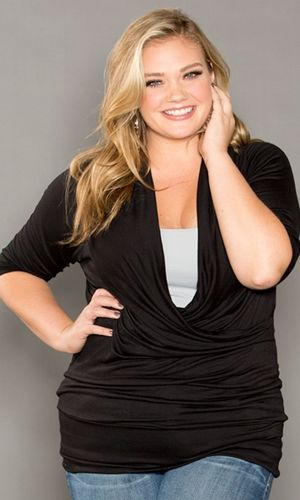 Plus Size Top Plus Size Womens Clothing at www.curvaliciousclothes.com #plussize #bbw #clothing #fashion Use code: SVE15 at checkout to get 15% OFF