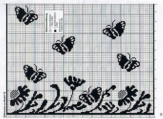 tendina filet farfalle fiori (2)