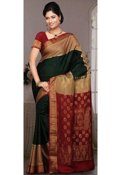 Top 15 Charming Mysore Silk SareesWith Photos