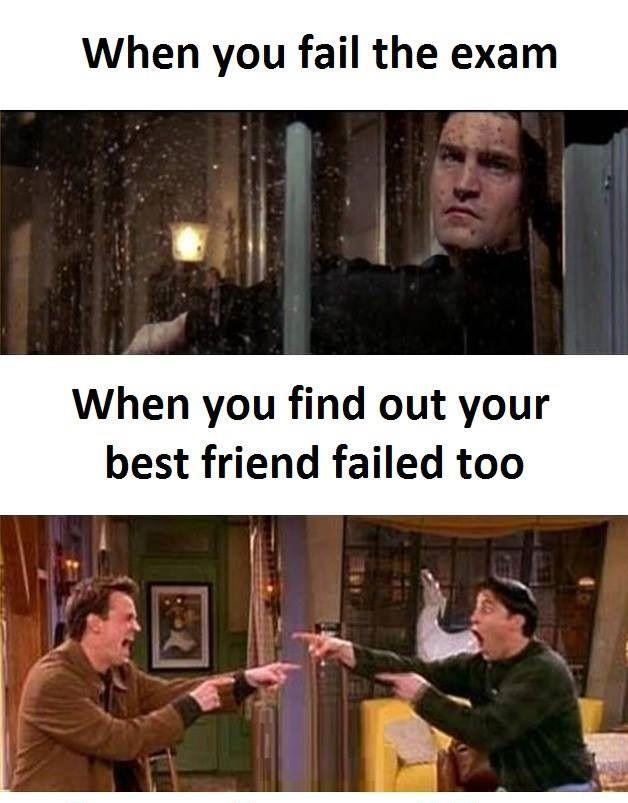 Fail The Exam