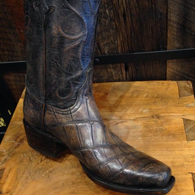 Giant Alligator Men S Cowboy Boots Just In Today From