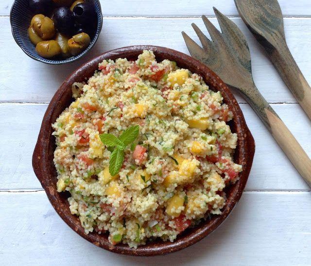 Receta de Taboulé (ensalada de couscous)