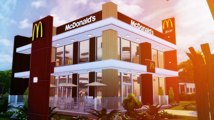 McDonald's Restaurant #3 - RomerJon17 Productions | Ansett4Sims