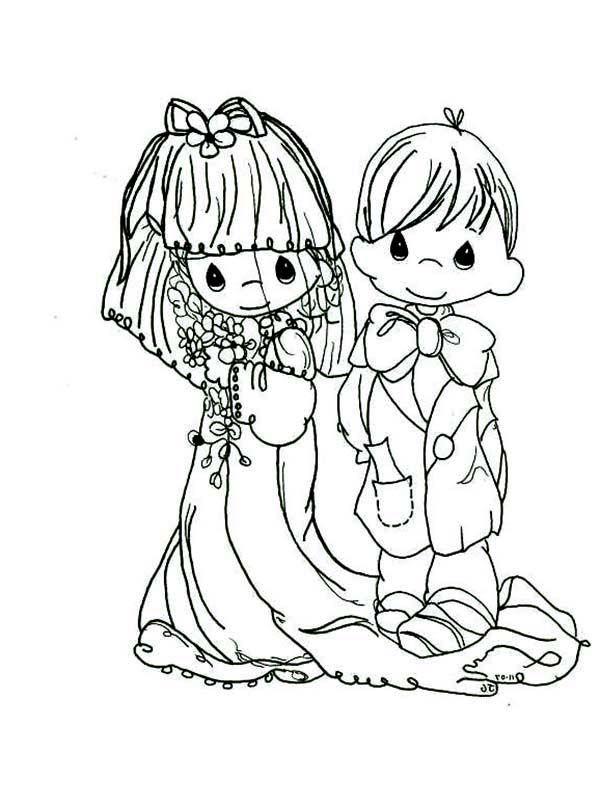 The 25 best precious moments wedding ideas on pinterest for Precious moments wedding coloring pages