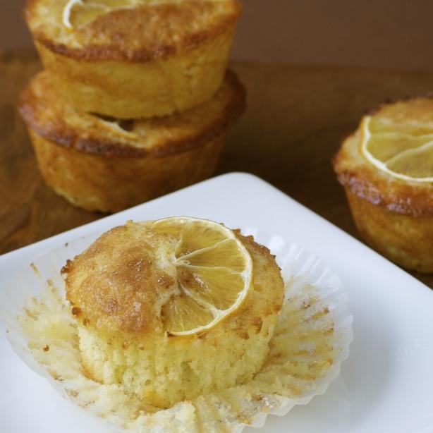 Meyer Lemon Muffins