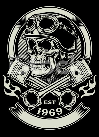 vintage motorcycle tattoos - Google Search