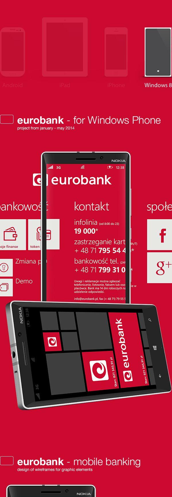 eurobank - windows app on App Design Served