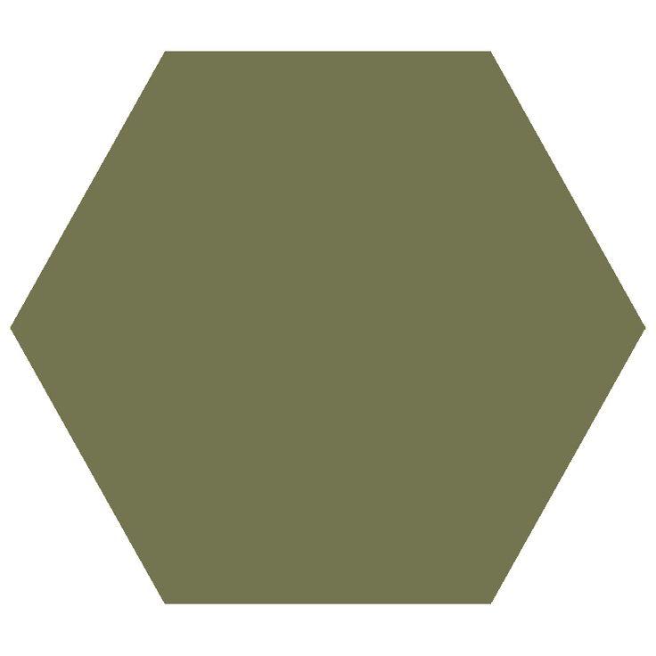Green Hexagon 127 från Byggfabriken | Badrum