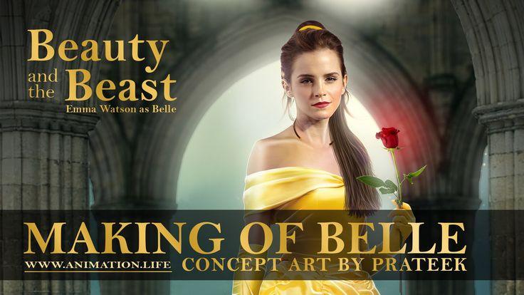 Emma Watson Upcoming movie Poster. Beauty and Beast. HD Wallpaper. [19201080]