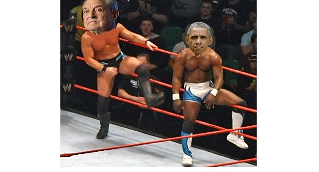 Best tag team in the world.  -------------------------------------------- While Barack Obama was driving coal companies toward bankruptcy, George Soros was taking advantage by purchasing coal company stocks on the cheap.
