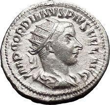 Gordian III 241AD Silver Authentic Ancient Roman Coin Zeus Jupiter Cult i49901 https://trustedmedievalcoins.wordpress.com/2015/12/28/gordian-iii-241ad-silver-authentic-ancient-roman-coin-zeus-jupiter-cult-i49901/