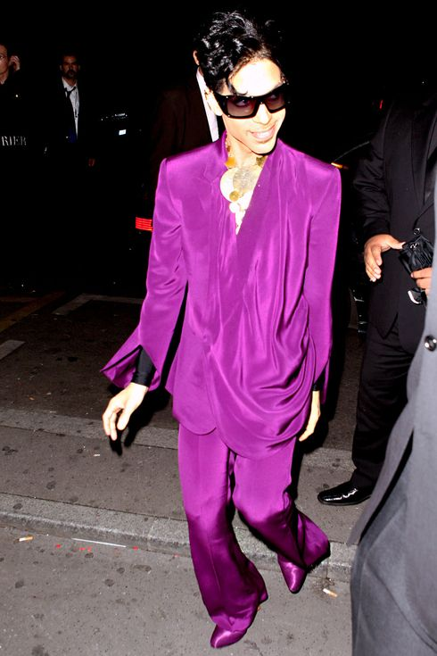 Prince's Purple Reign: Every Time He Wore His Signature Color | People