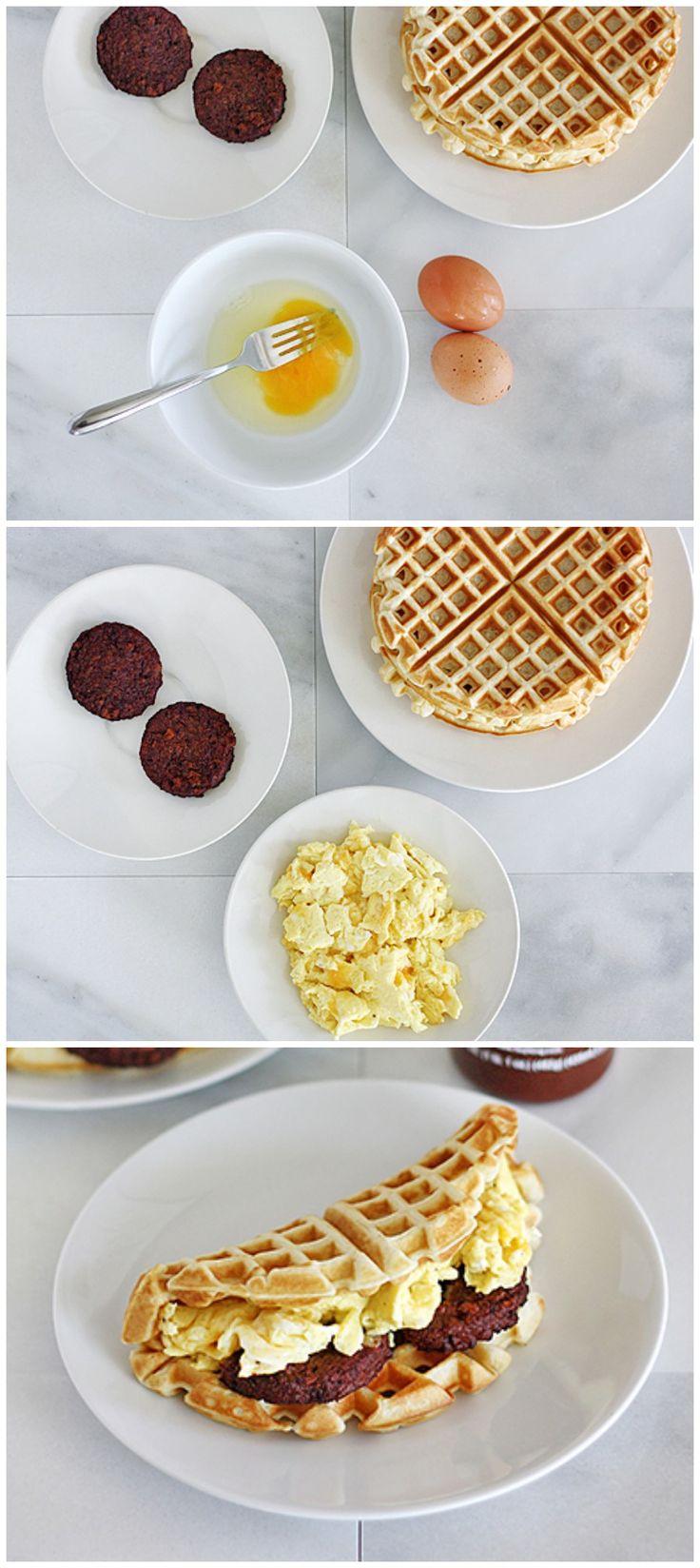 #DIY Waffle Taco