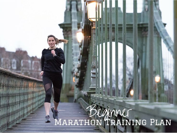 3 runs a week beginner marathon training plan - perfect for the London Marathon