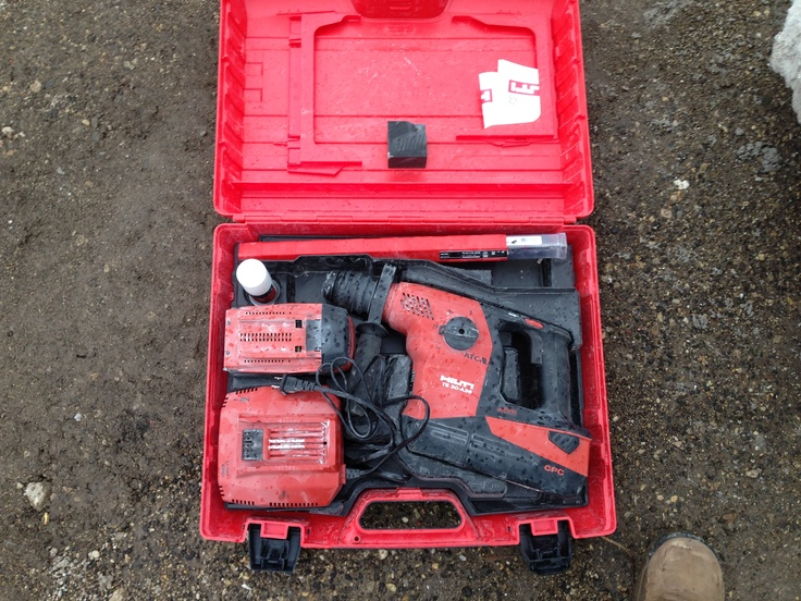 Getting down and dirty with the Hilti