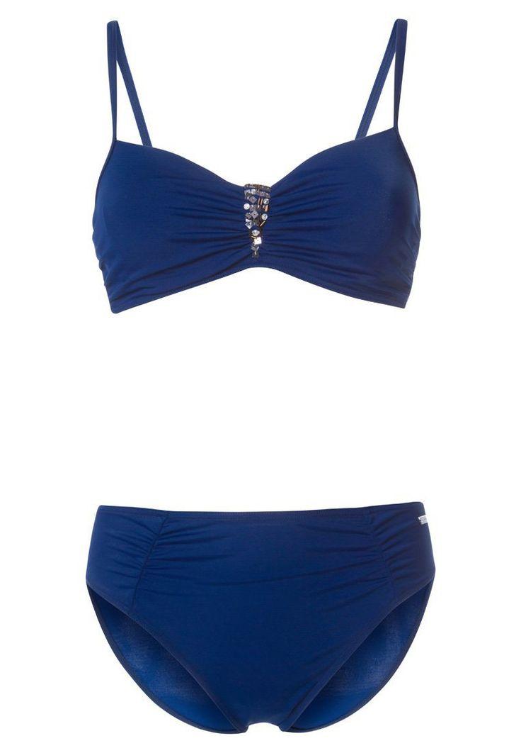 LASCANA LAPIZ Bikini navy Bekleidung bei Zalando.de   Material Oberstoff: 80% Polyamid, 20% Elasthan   Bekleidung jetzt versandkostenfrei bei Zalando.de bestellen!