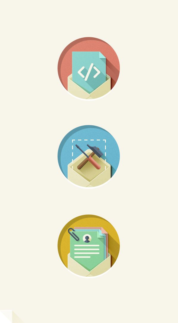 Flat Flat Flat by Eriks Cernevskis, via Behance