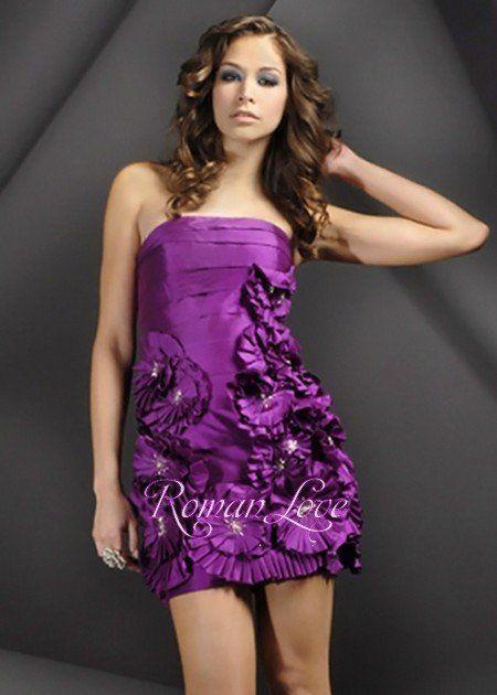 15 Pins imperdíveis de Purple Petite Dresses | Tops curtos