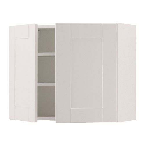 AKURUM Fan cab/top cabinet to refrigerator IKEA Sturdy frame construction, 3/4 thick.
