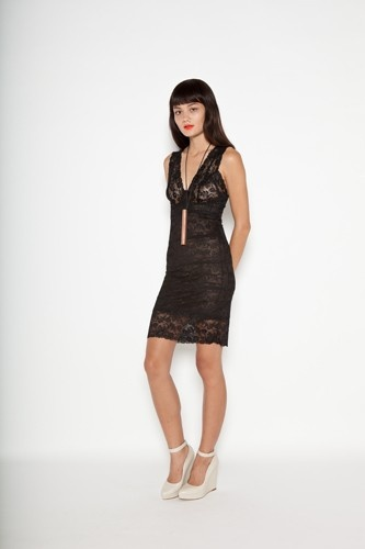 New from Staple the Label. Lace Mini Body Dress!