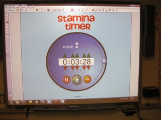 one of the things that the daily five aims to do is build stamina. use a timer to increase number of minutes reading or working independently
