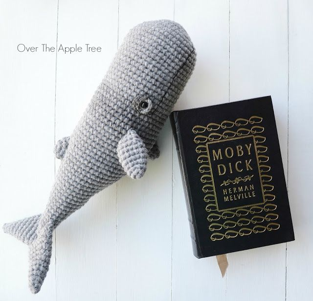 Crochet Whale by Over The Apple Tree to knit and crochet