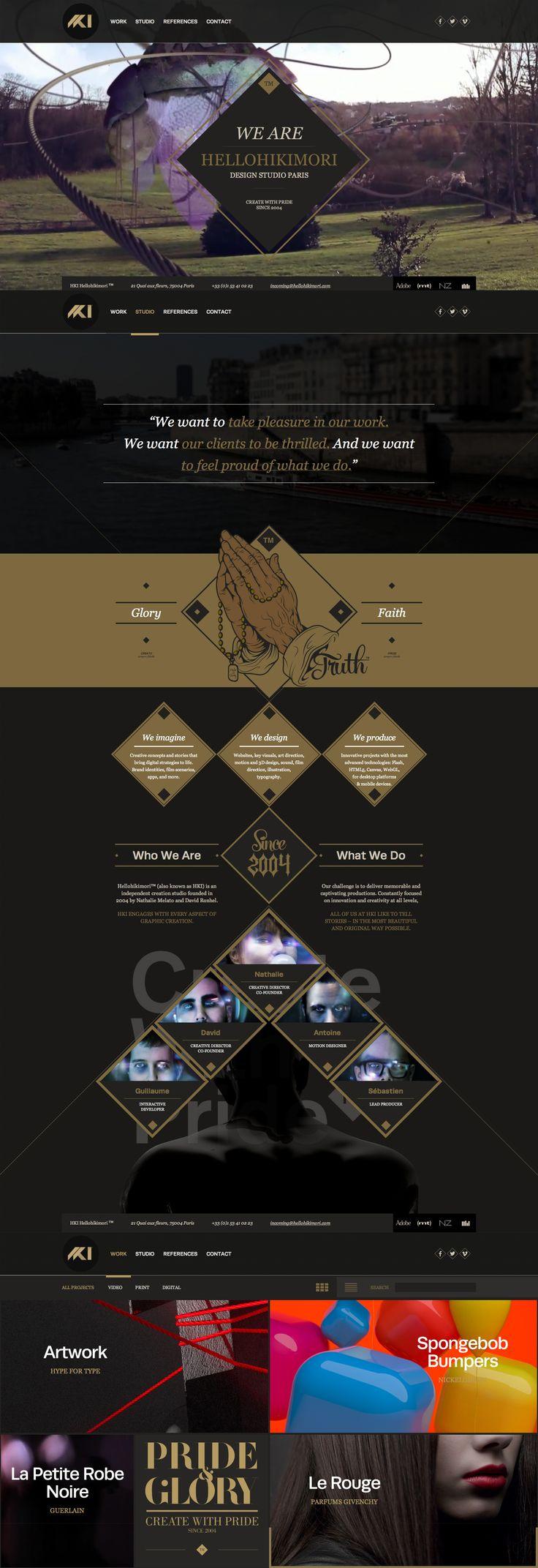 HKI™ Hellohikimori™, 9 August 2013. http://www.awwwards.com/web-design-awards/hki-hellohikimori   #WebInteractive #ResponsiveDesign #HTML5 #Video #Design #Portfolio #GraphicDesign
