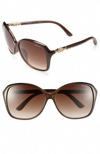 7b4e80e33cb27  MillionDollarHeathersShopper Jimmy Choo 60mm Sunglasses available at   Nordstrom  JimmyChoo