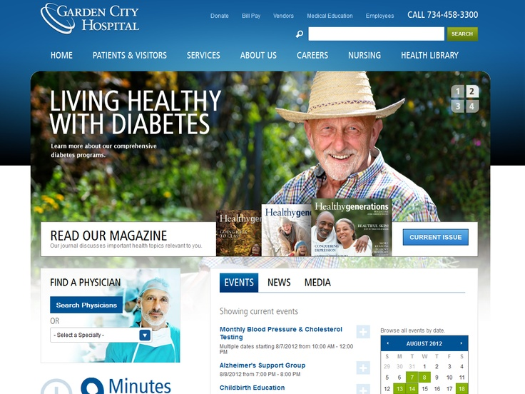 Top 10 Kentico Websites for July 2012 http://devnet.kentico.com/Blogs/Lenka-Navratilova/August-2012/Top-10-Kentico-Websites-for-July-2012.aspx Garden City Hospital  Implemented by:  Biznet Internet Solutions, USA  Kentico Gold Partner