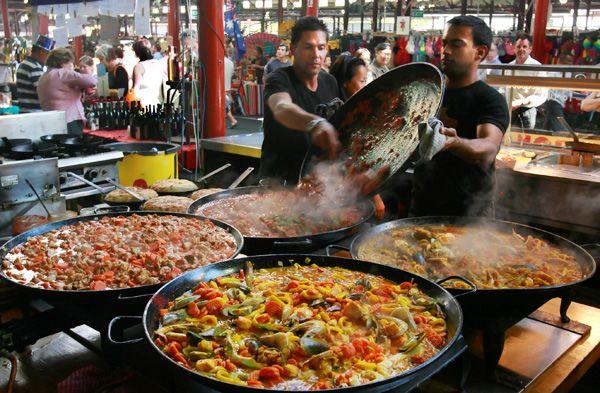 Suzuki night market melbourne australia street food for Australian cuisine melbourne
