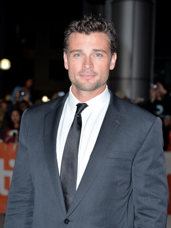 "TORONTO, ON - SEPTEMBER 06: Actor Tom Welling arrives at the ""Parkland"" premiere during the 2013 Toronto International Film Festival at Roy Thomson Hall on September 6, 2013 in Toronto, Canada."