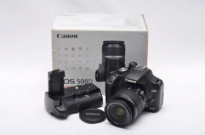 Jual Kamera DSLR Second – kamera Canon EOS 500D: Kamera DSLR Second - kamera Canon EOS 500D Harga: Rp. 2.850.000,- (Ready Stok)