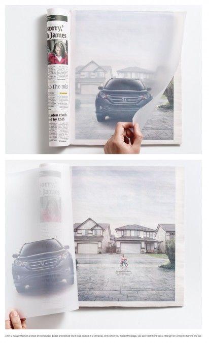 Honda transparent