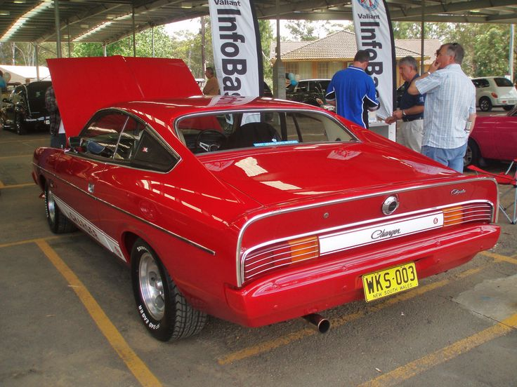 1976 Chrysler VK Valiant Charger 'White Knight Special' - Google Search