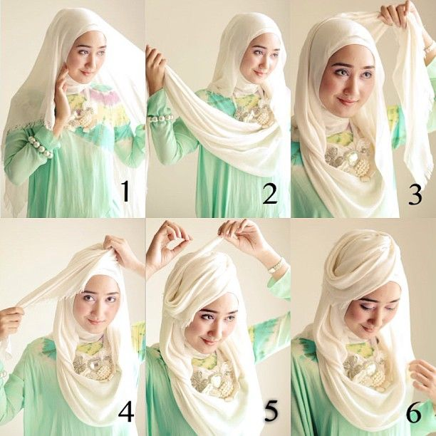 17 Best images about hijab tutorial on Pinterest