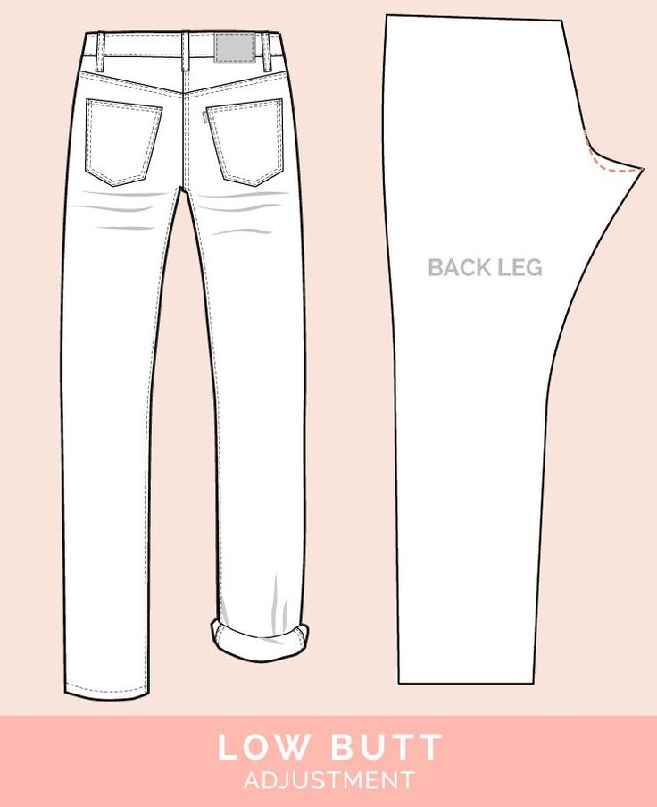 Blog post from Closet Case Files with lots of pants alterations for various fit issues