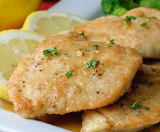 Rock the Mediterranean Diet - Lemon Chicken Piccata