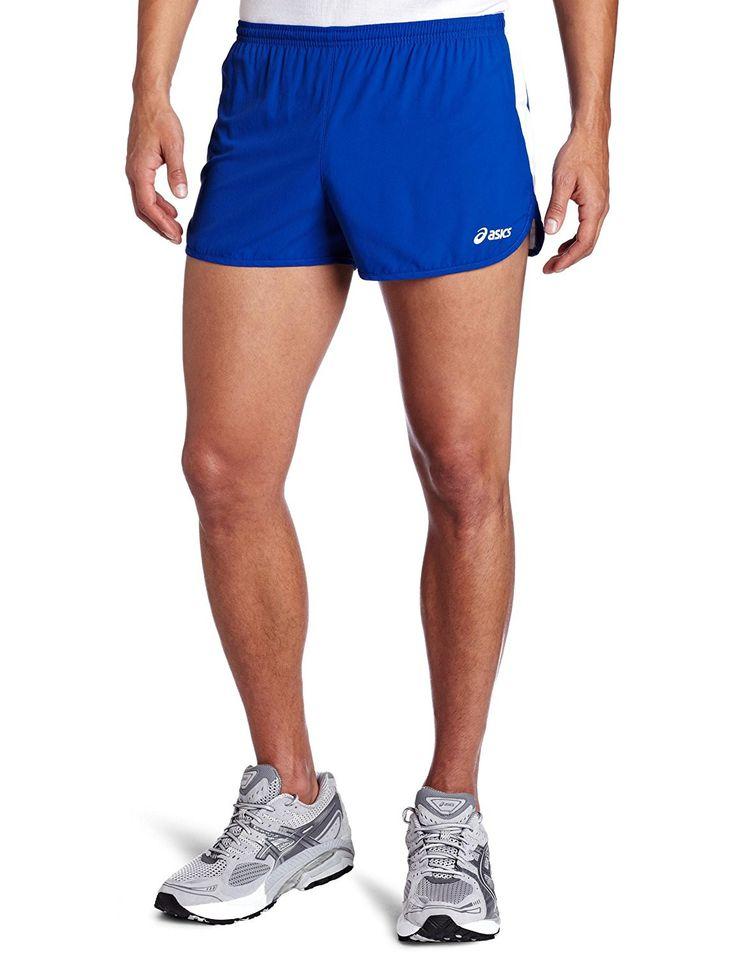 Asics mens intensity 25inch 12 split running shorts