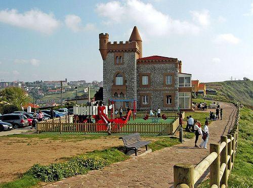 El Castillo de Ceruti en Suances.