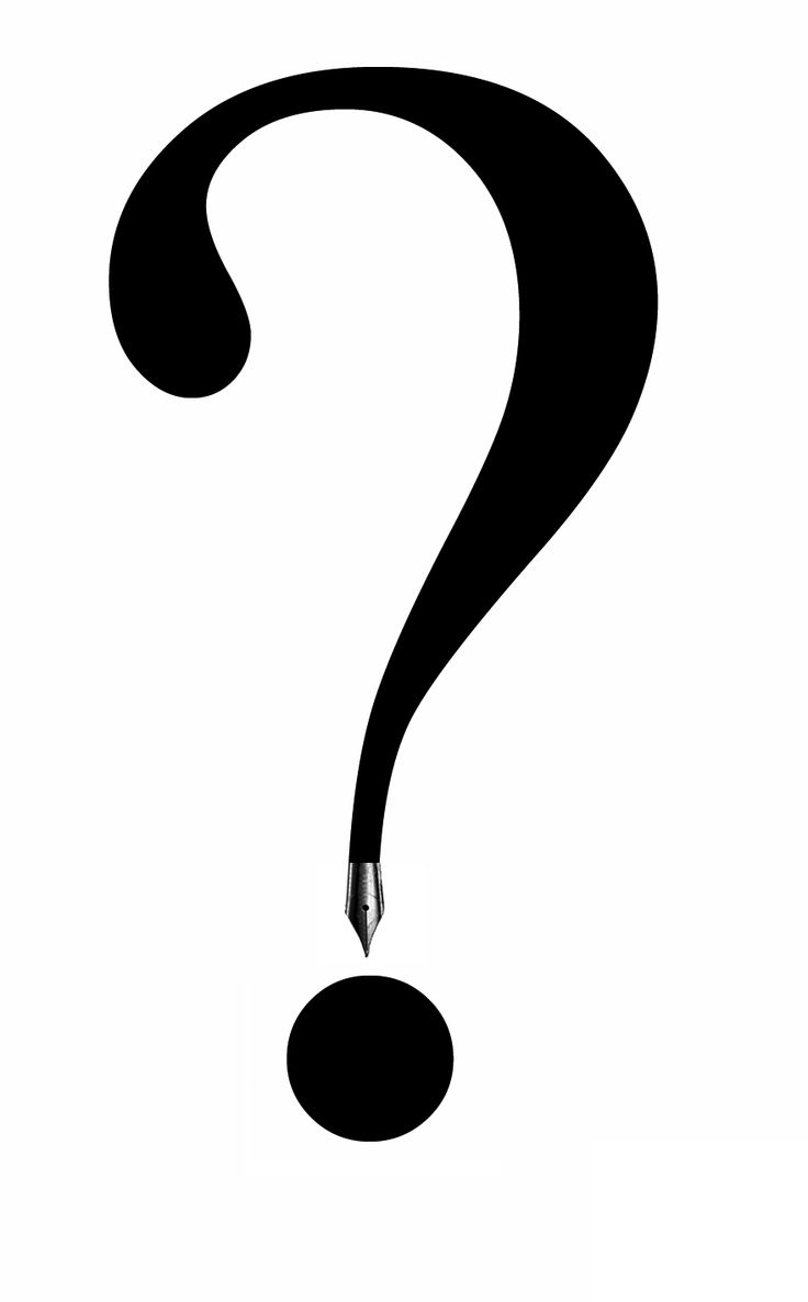 Coloring pages question mark - Download