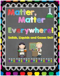 Solids Liquids And Gases on Water Walk Experiment Freebie And