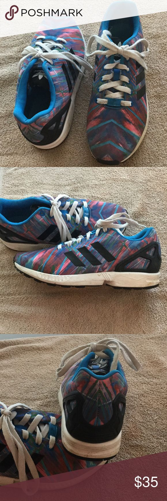 ADIDAS TORSION Men's ZX FLUX or 10.5 women's Multicolor Adidas ZX FLUX SIZE 8.5 Great condition. Adidas Shoes Athletic Shoes