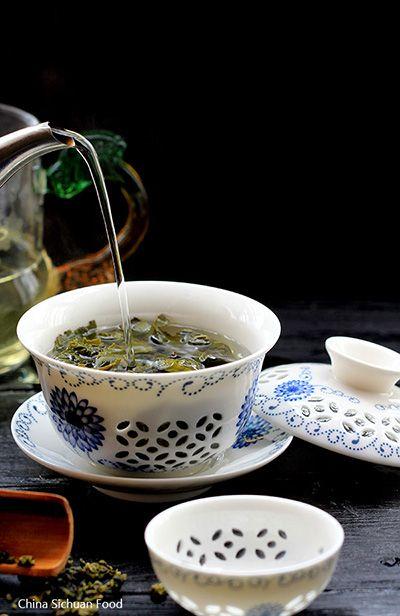 Oolong Tea (Tie Guan Yin) - China Sichuan Food