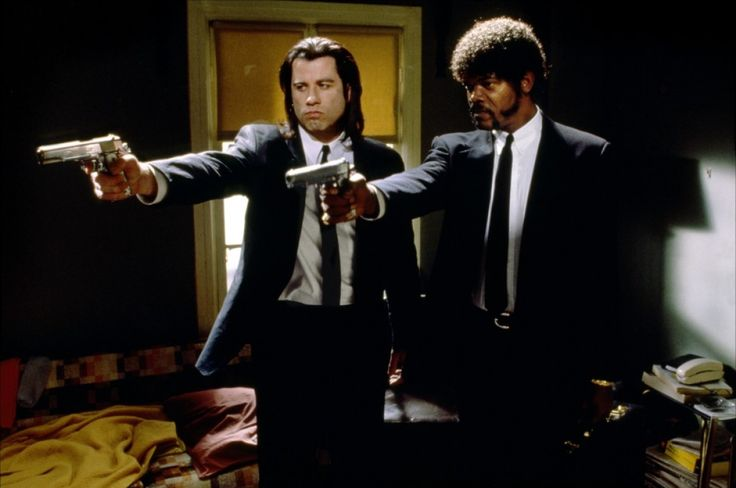 Pulp Fiction - John Travolta - Samuel L. Jackson