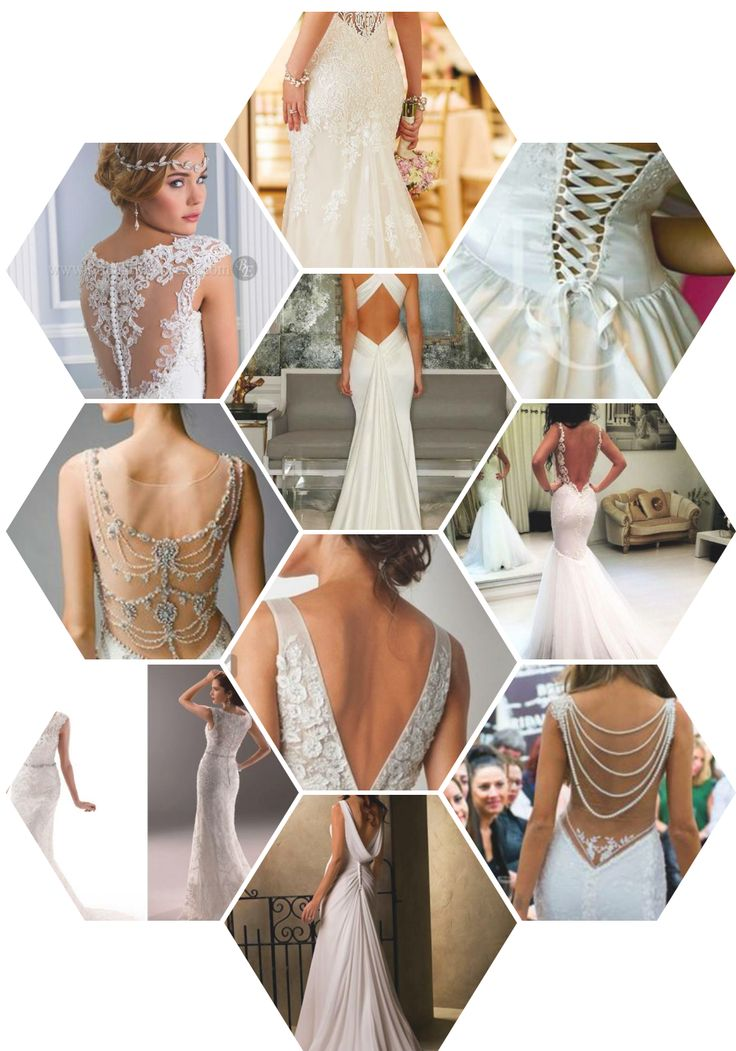 How do you want the back of your dress to look? Browse choices here! Check this list for more tips to help choose your wedding dress: https://goo.gl/K3z5lC