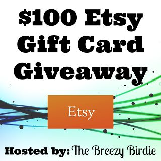 Enter the #win a $100 Etsy Gift Card!