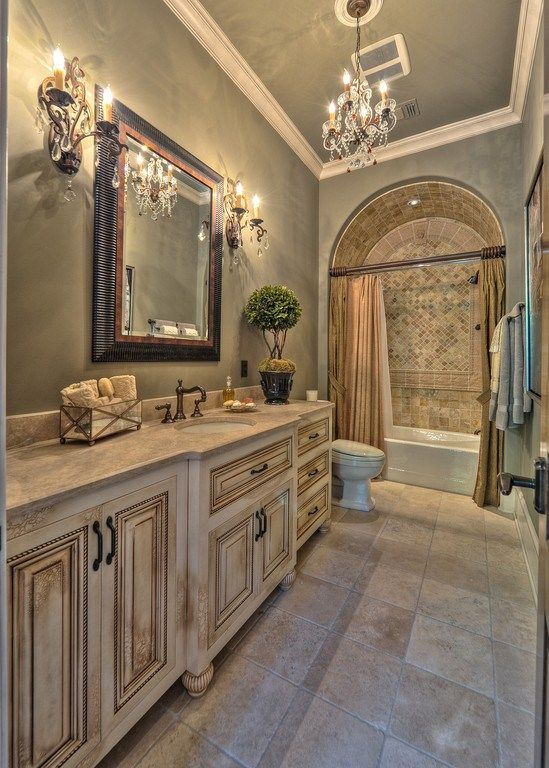25 best ideas about mediterranean bathroom on pinterest for Small main bathroom ideas