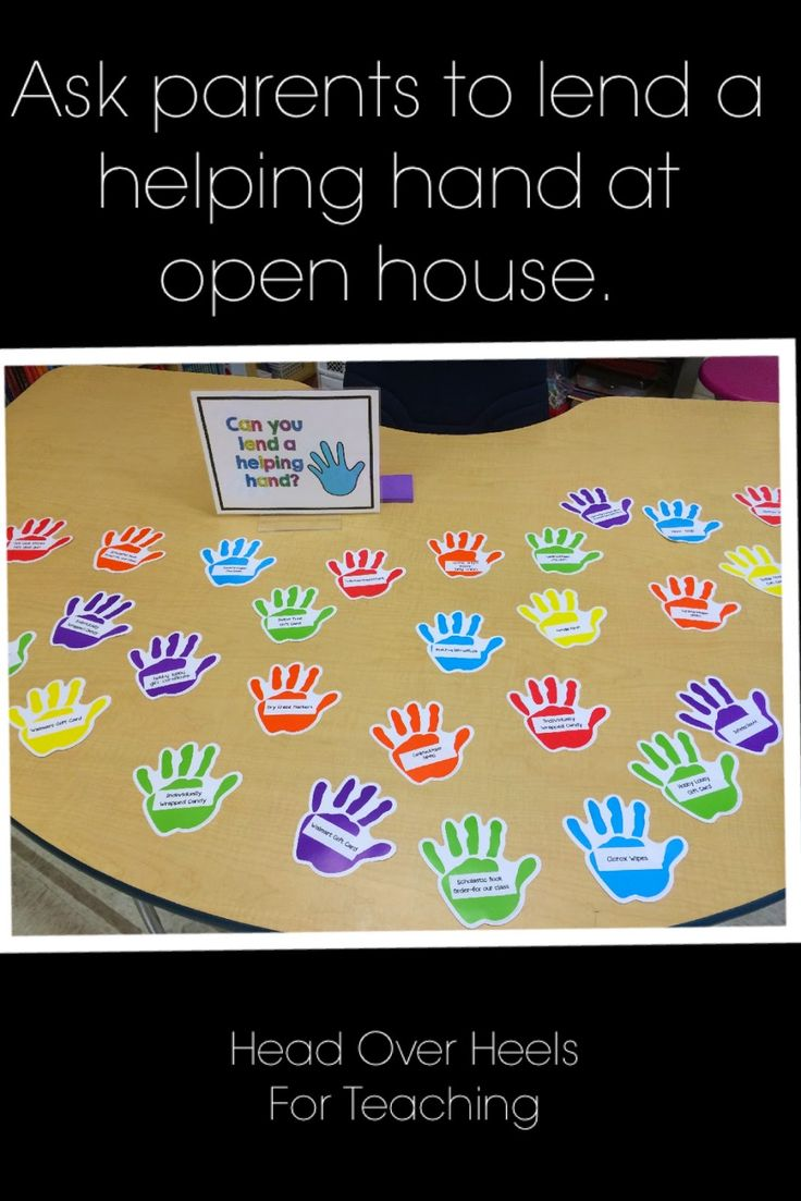 Open House-ask parents to lend a helping hand and donate some wish list items to your classroom.